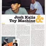 Josh Kalis & Toy Machine
